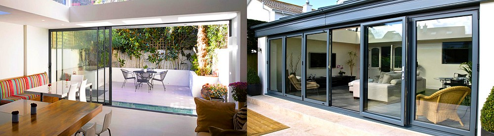 Bifold or sliding doors - which ones should I choose?