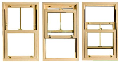 Sash window sliding function