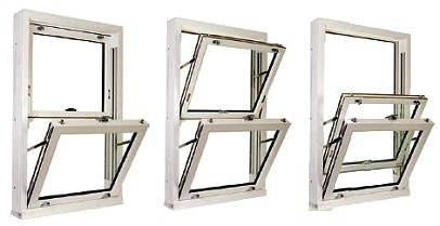 Sash window tilt function