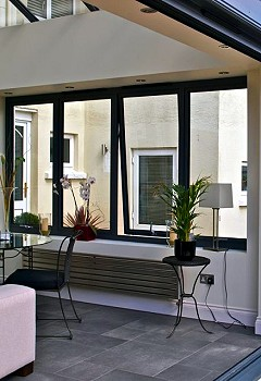 Our innovative contemporary window systems provide slim sight lines for a subtle, contemporary look